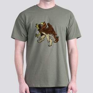 Heraldic Griffin Dark T-Shirt