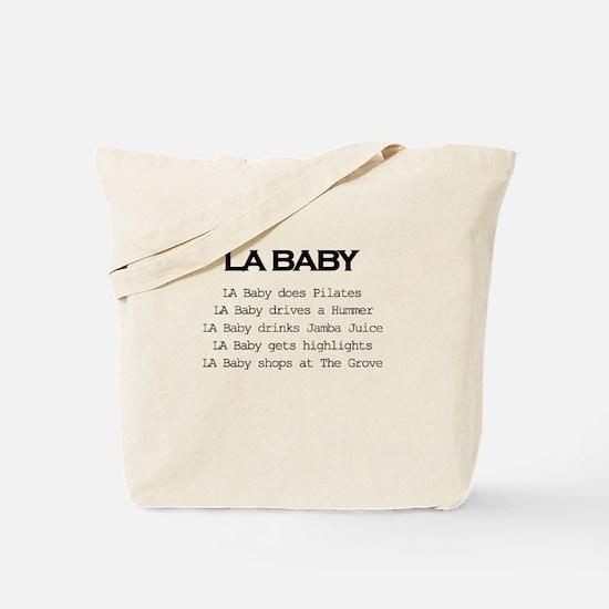 Los Angeles Baby Tote Bag
