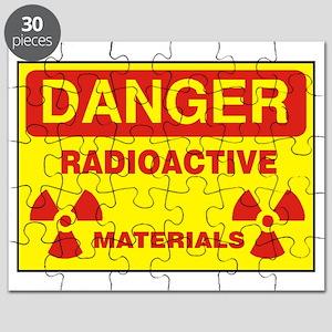 DANGER  - RADIOACTIVE  ELEMENTS! Puzzle