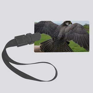 Peregrine Falcon Large Luggage Tag