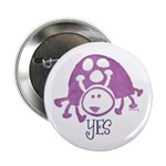 "Ladybug Stamp 2.25"" Button (100 pack)"