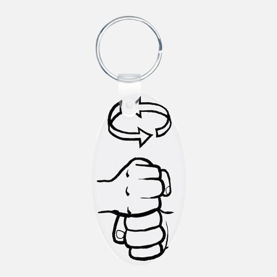 Coffee ASL Mug Keychains