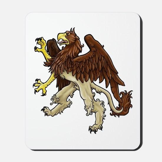 Heraldic Griffin Mousepad