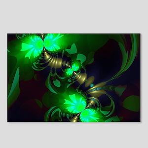 Irish Goblin Emerald Gold Postcards (Package of 8)
