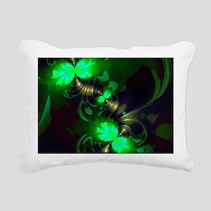 Irish Goblin Emerald Gol Rectangular Canvas Pillow