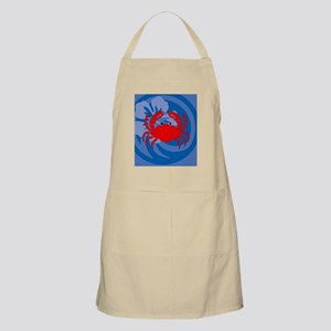 Crab Hexagon Ornament Apron