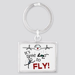 Its Time To Fly Landscape Keychain