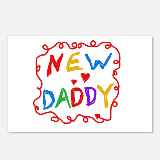 New Daddy Postcards (Package of 8)
