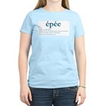 Epee Fencing Definition Women's Light T-Shirt