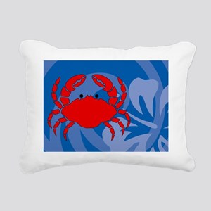 Crab Power Bank Rectangular Canvas Pillow
