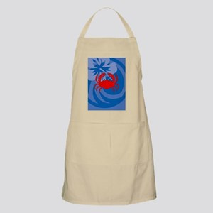 Crab Ornament (Oval) Apron