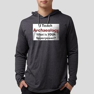 teach archaeology Mens Hooded Shirt