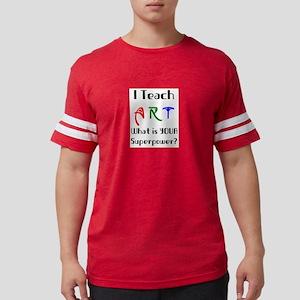 teach art Mens Football Shirt