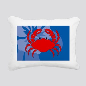 Crab Small Serving Tray Rectangular Canvas Pillow