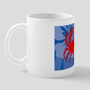 Crab Small Serving Tray Mug