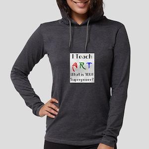 teach art Womens Hooded Shirt