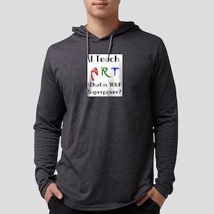 teach art Mens Hooded Shirt