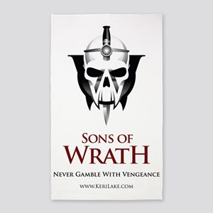 Sons of Wrath All 3'x5' Area Rug