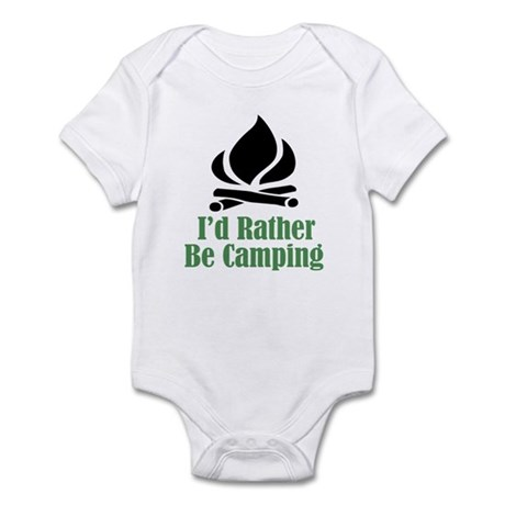 Rather Be Camping Infant Bodysuit