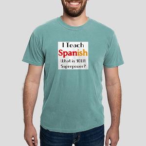 teach spanish Mens Comfort Colors Shirt