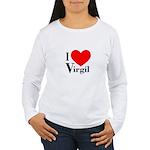 I Love Virgil Women's Long Sleeve T-Shirt
