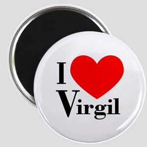 I Love Virgil Magnet