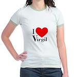 I Love Virgil Jr. Ringer T-Shirt