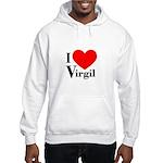 I Love Virgil Hooded Sweatshirt