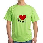 I Love Virgil Green T-Shirt