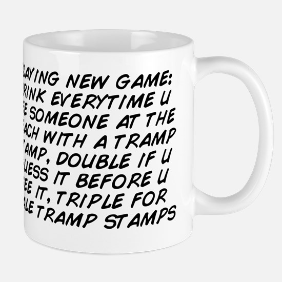 playing new game: drink everytime u see Mug