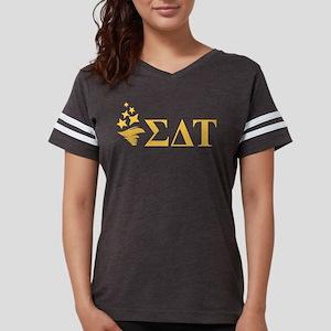 Sigma Delta Tau Letters Womens Football Shirt