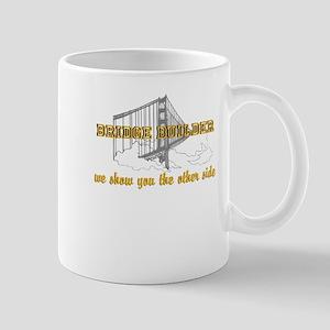 Bridge Builder Other Side Mugs