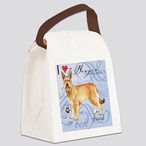 berger-tile Canvas Lunch Bag