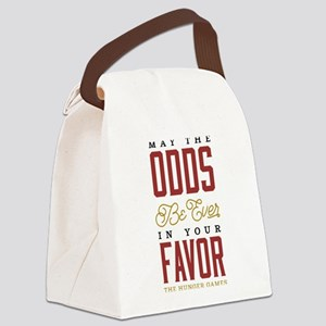 May The Odds Be Ever In Your Favo Canvas Lunch Bag