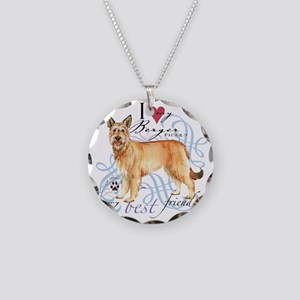 berger-T1 Necklace Circle Charm