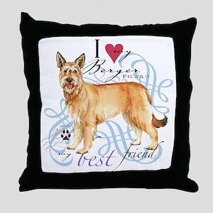 berger-T1 Throw Pillow