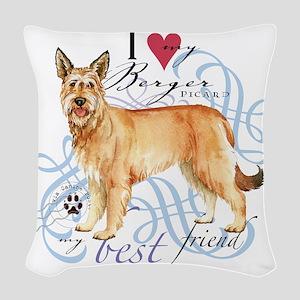 berger-T1 Woven Throw Pillow