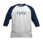 Simply Epee Kids Baseball Jersey
