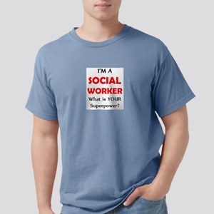 social worker Mens Comfort Colors Shirt