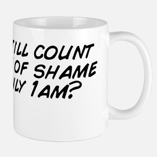 Does it still count as a walk of shame  Mug