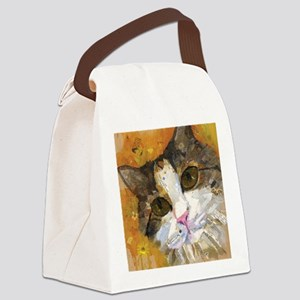 Calico Pie Canvas Lunch Bag