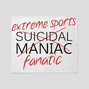 Extreme Sports Throw Blanket