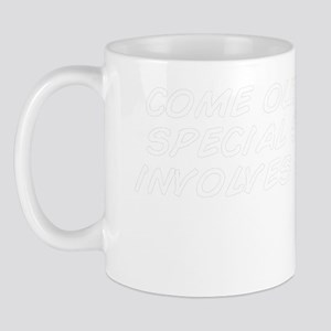 come outside for a special surprise it  Mug