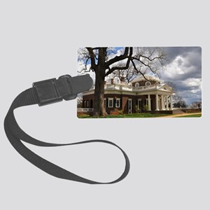 Monticello 9X12 Large Luggage Tag