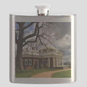 Monticello 9X12 Flask