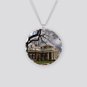 Monticello 9X12 Necklace Circle Charm