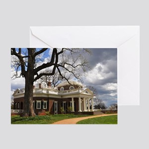 Monticello 9X12 Greeting Card
