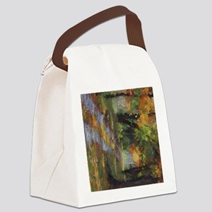 Fall Road iPad Canvas Lunch Bag