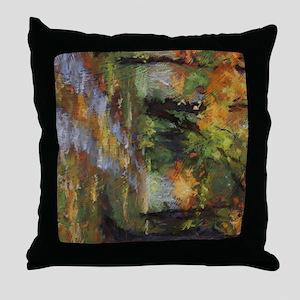 Fall Road iPad Throw Pillow