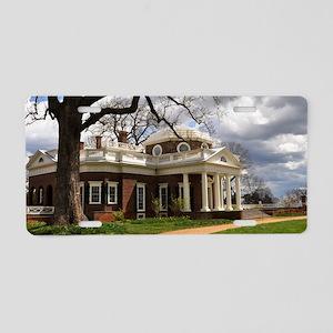 Monticello 14X6 Aluminum License Plate